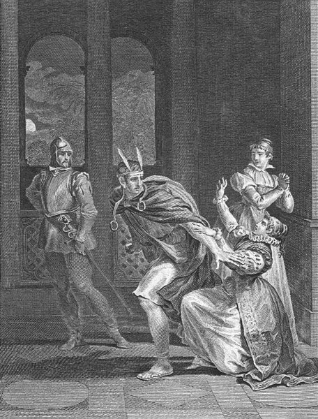 Associate Product ROMANCE. How can you think of love, moment horror? c1800 old antique print