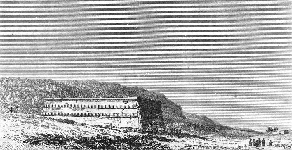 Associate Product CHURCHES. The White Monastery c1780 old antique vintage print picture