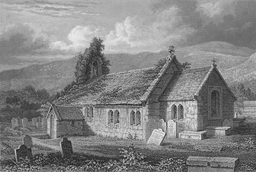Associate Product CANADA. St Lawrence Church c1840 old antique vintage print picture