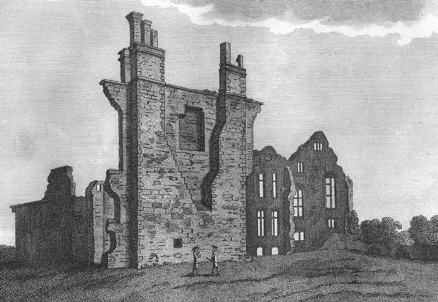 Associate Product LEICS. Leicester Abbey. Jones 1787 old antique vintage print picture