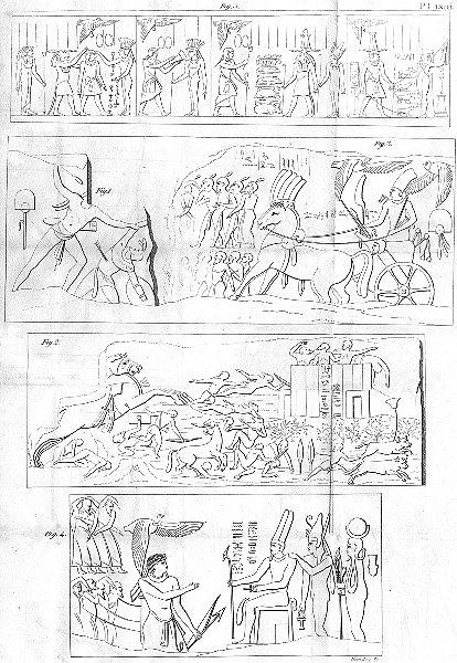 Associate Product EGYPT. Pharoes hieroglyphs hieroglyphics c1800 old antique print picture