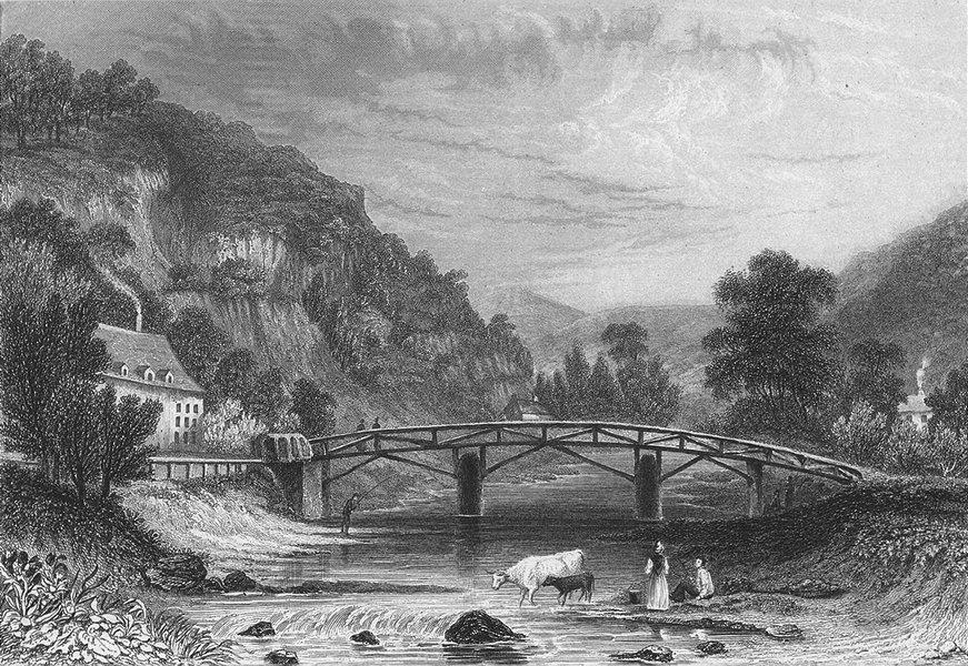 Associate Product BELGIUM. View Plastrier. Fussell 1840 old antique vintage print picture