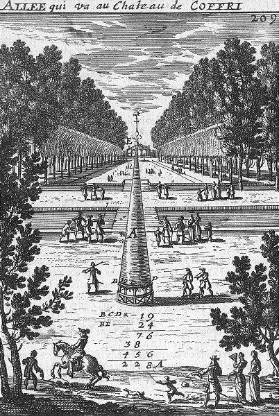 Associate Product FRANCE. LIV III De la Planimetrie 1702 old antique vintage print picture