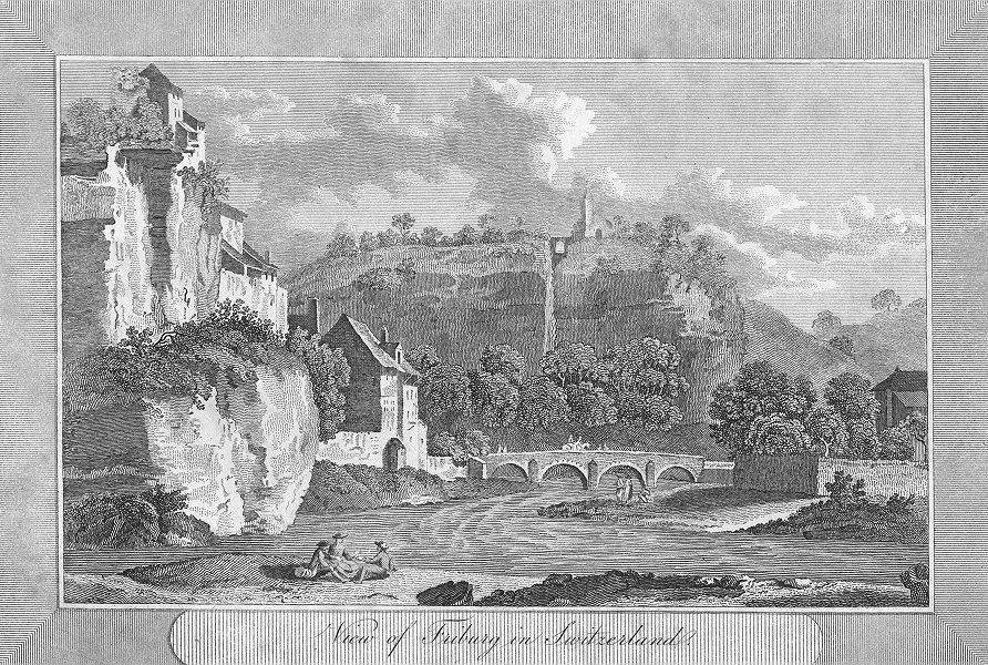 Associate Product SWITZERLAND. Friburg in. Swiss. Sparrow view river 1810 old antique print