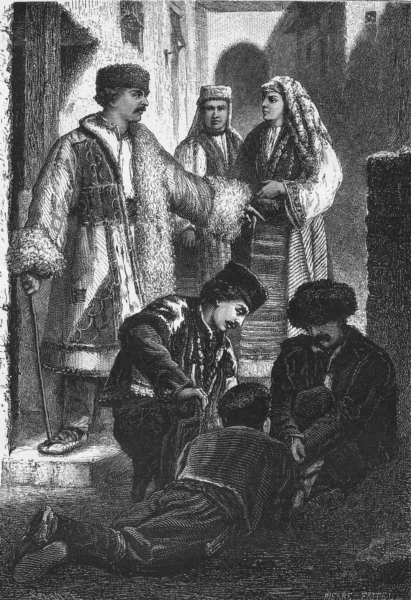 Associate Product BULGARIA. Christian Moslem Vidin; Skodra; Koyutepe c1885 old antique print