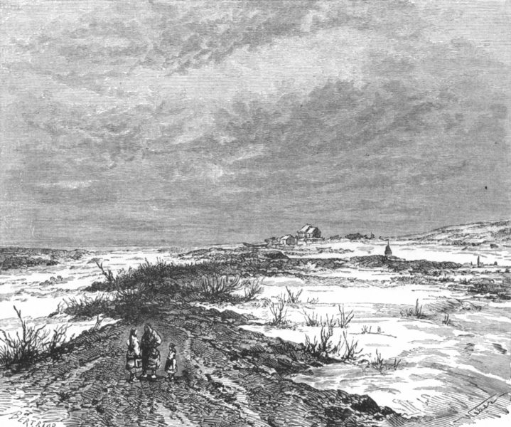 Associate Product RUSSIA. Banks of Yenisei. Ice-formed levee c1885 old antique print picture