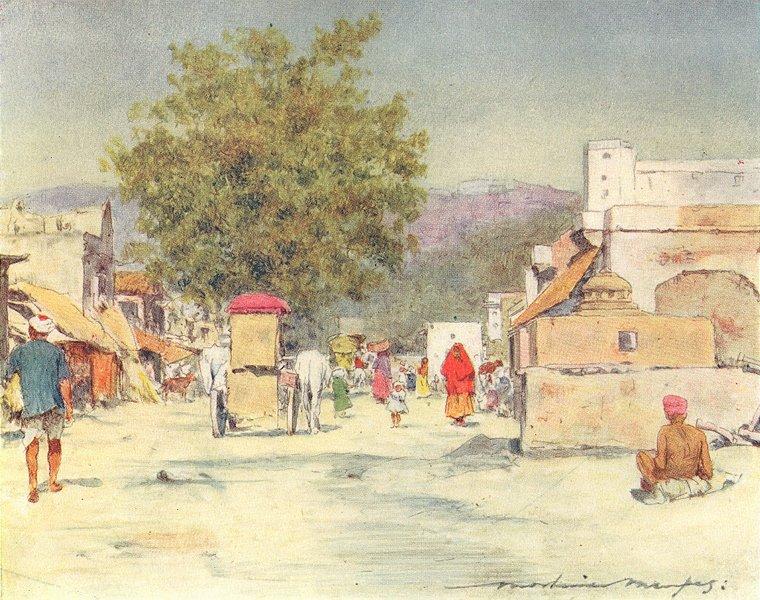 Associate Product INDIA. Jaipur 1905 old antique vintage print picture