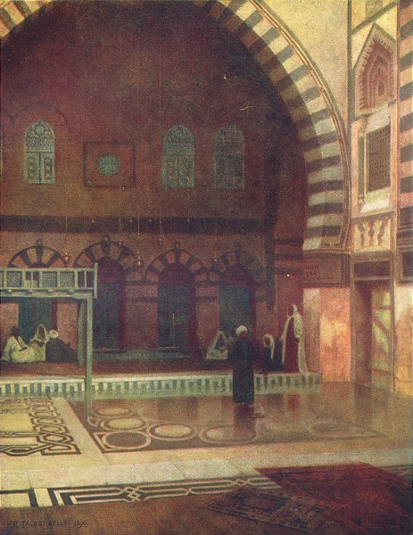 Associate Product EGYPT.The House of Prayer 1912 old antique vintage print picture