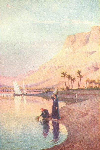 Associate Product EGYPT. Gibel Kasr-Es-Saad 1912 old antique vintage print picture