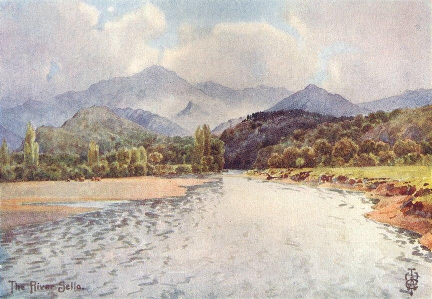 Associate Product SPAIN. Sella Valley. Below Arriondas 1906 old antique vintage print picture