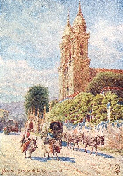 Associate Product SPAIN. Nuestra Senora de Esclavitud 1906 old antique vintage print picture