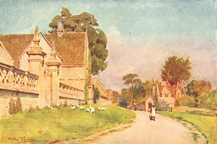 Associate Product SOMT. Claverton Manor, Bath 1906 old antique vintage print picture