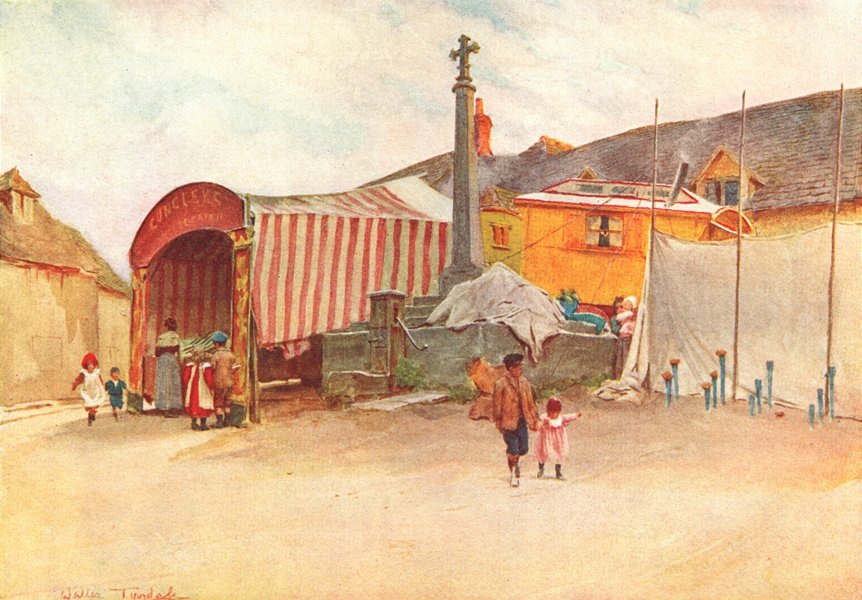 Associate Product SOCIETY. A a Wessex Fair 1906 old antique vintage print picture