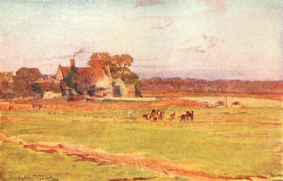 Associate Product WELLBRIDGE. Wool Manor Tess D'Urbervilles, Clare 1906 old antique print