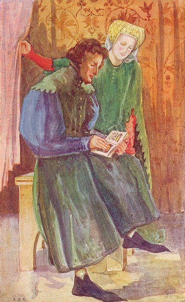 Associate Product DRESS. Man Woman reign Henry IV 1399-1413 1926 old vintage print picture