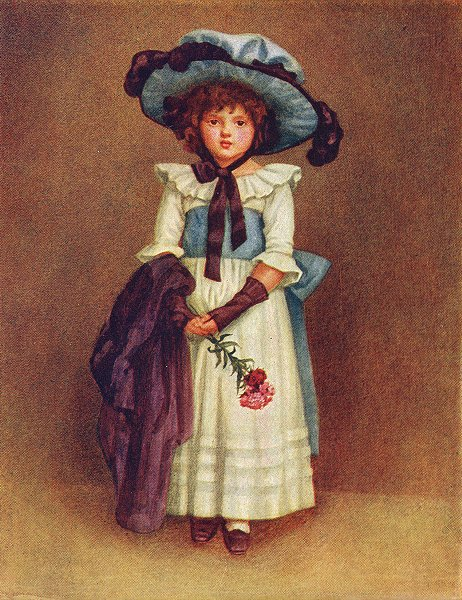 Associate Product KATE GREENAWAY. Little Model 1905 old antique vintage print picture