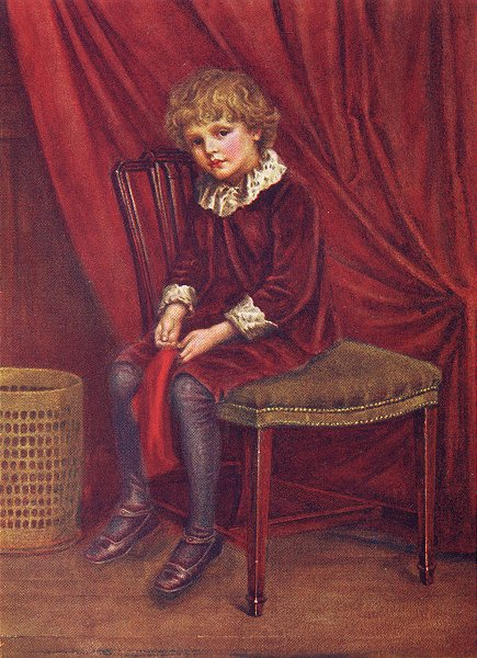 Associate Product KATE GREENAWAY. Red boy 1905 old antique vintage print picture