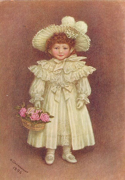 Associate Product KATE GREENAWAY. Vera Evelyn Samuel 1905 old antique vintage print picture