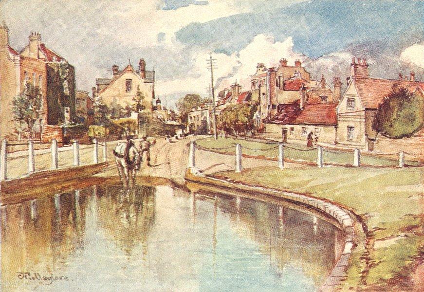 Associate Product LONDON. Hendon 1907 old antique vintage print picture