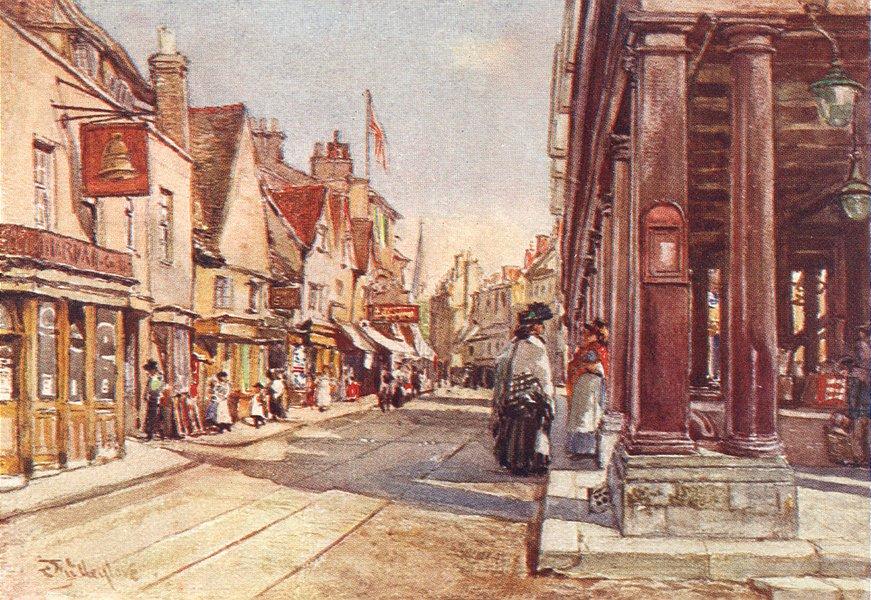 Associate Product LONDON. Uxbridge 1907 old antique vintage print picture