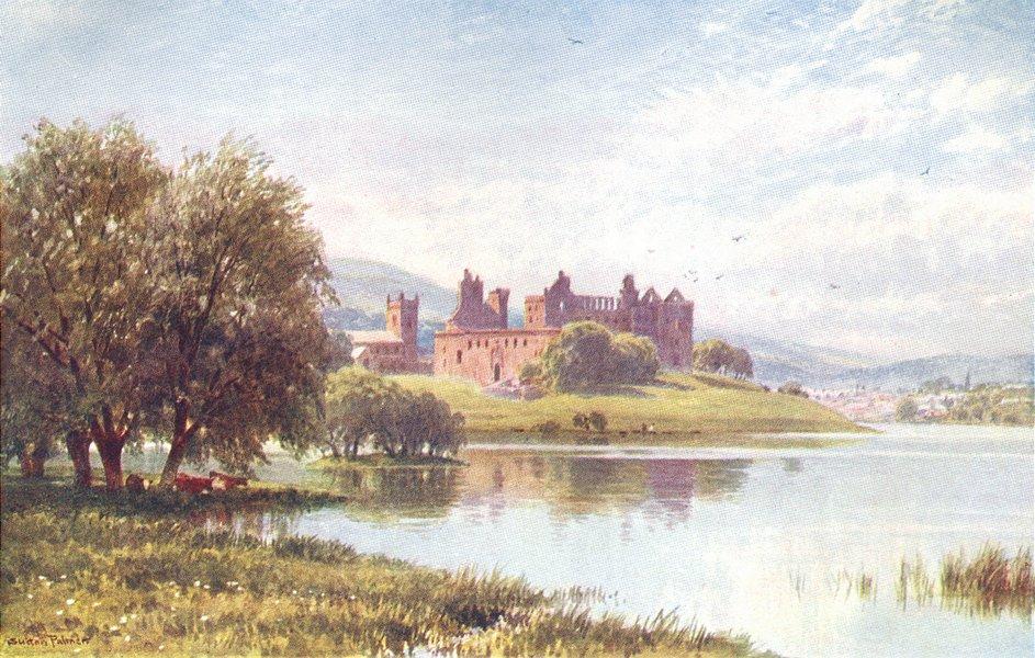 Associate Product SCOTLAND. Linlithgow Palace 1904 old antique vintage print picture