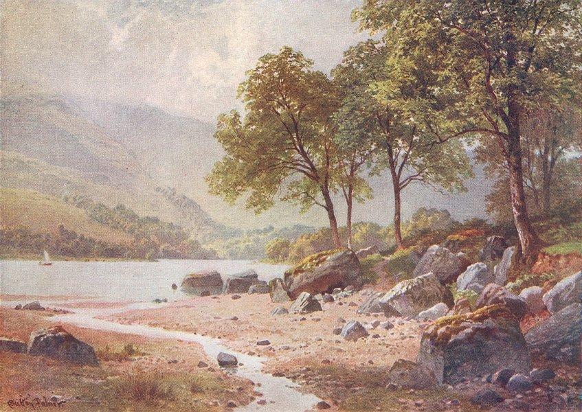 Associate Product SCOTLAND. Ardlui, Loch Lomond, Dumbartonshire 1904 old antique print picture