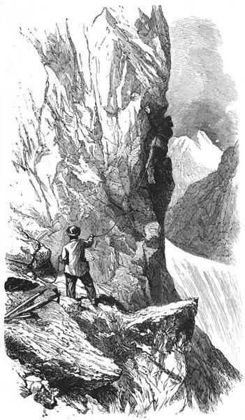 Associate Product SWITZERLAND. Matterhorn 1891 old antique vintage print picture