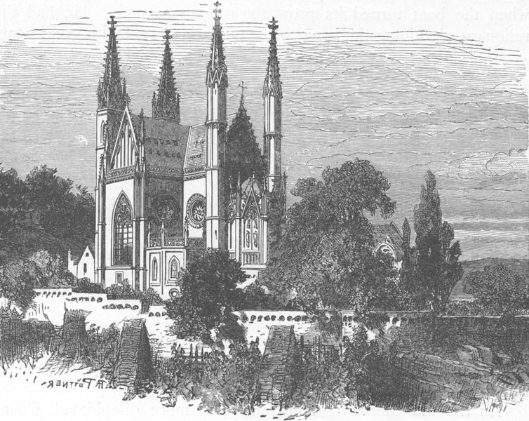 Associate Product GERMANY. Apollinaris Church 1903 old antique vintage print picture