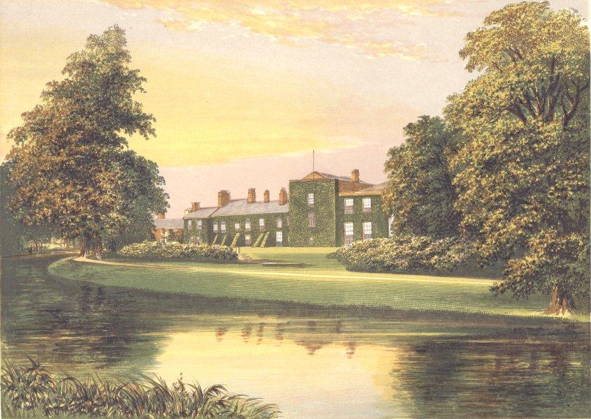 NETHERHALL, Maryport, Cumberland (Pocklington (Senhouse) 1894 old print