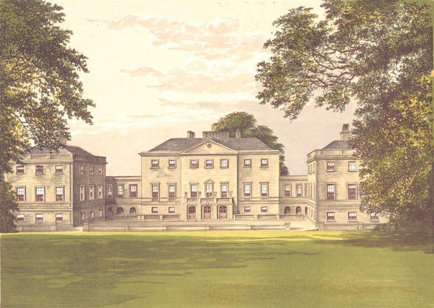 Associate Product NUNEHAM PARK, Oxfordshire, Abingdon, Berkshire (Harcourt) 1894 old print