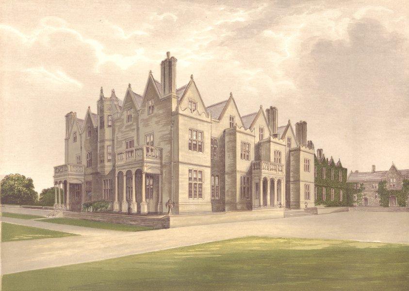 Associate Product ACTON REYNALD HALL, Shrewsbury, Shropshire (Corbet, Bart) 1894 old print