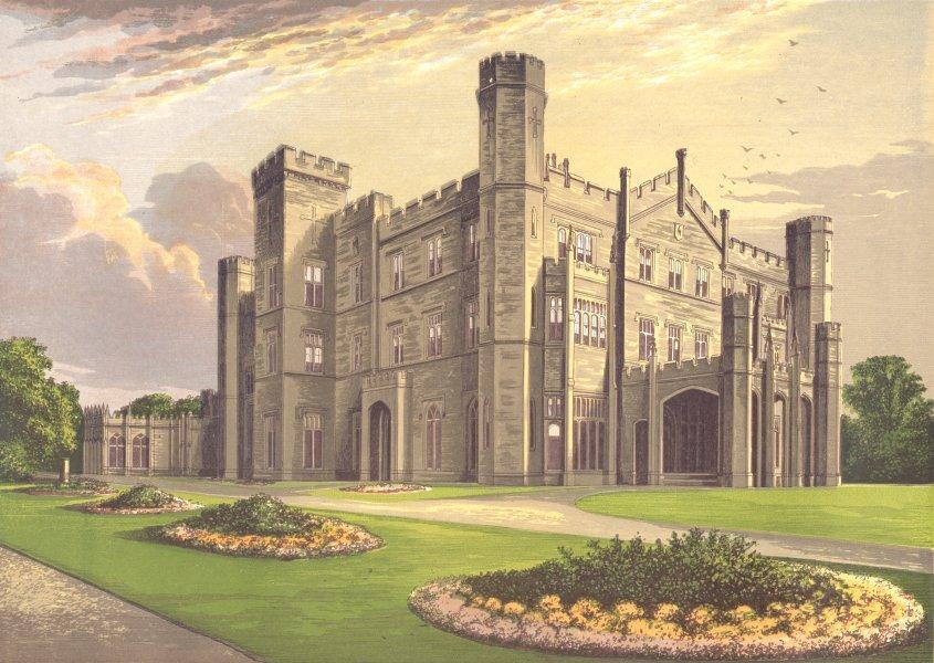 APLEY PARK, Bridgnorth, Shropshire (Foster) 1894 old antique print picture