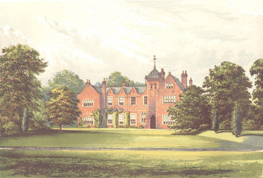Associate Product LEA, Gainsborough, Lincolnshire (Anderson, Baronet) 1890 old antique print