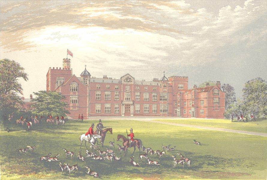 Associate Product BURTON CONSTABLE, Kingston-upon-Hull, Yorkshire (Constable, Baronet) 1890