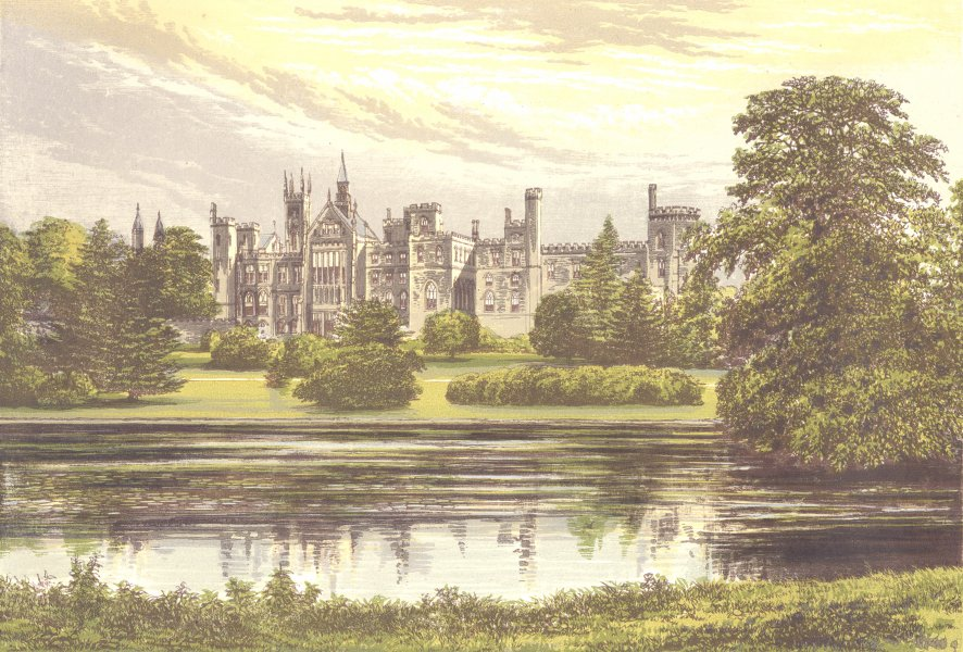 Associate Product ALTON TOWERS, Cheadle, Staffordshire (Earl of Shrewsbury and Talbot) 1890