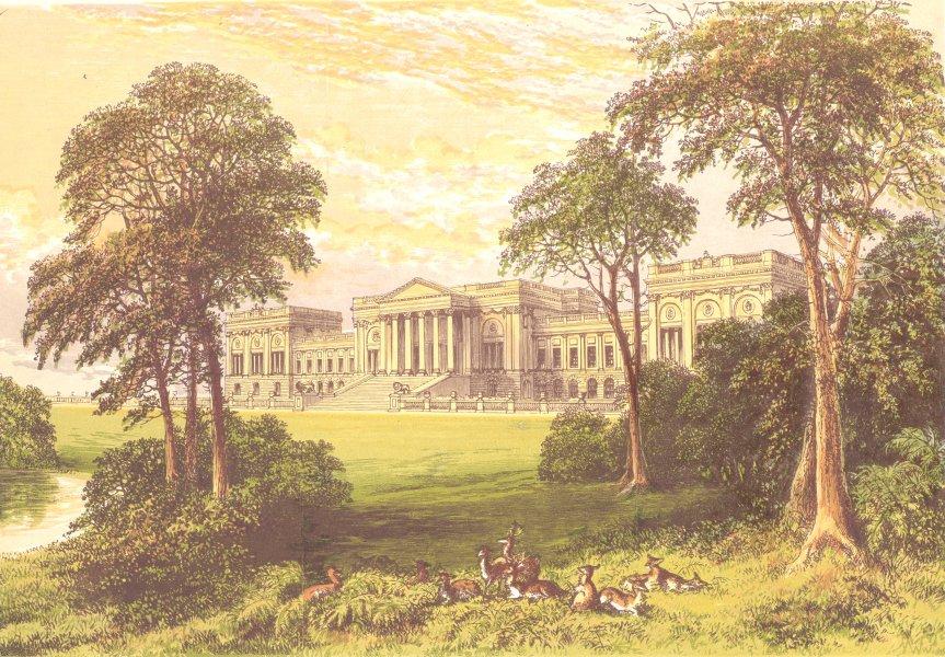 Associate Product STOWE PARK, Buckinghamshire (Duke & Marquis of Buckingham & Chandos) 1890