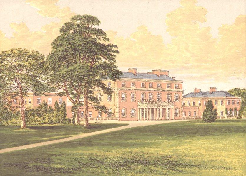 TRAFALGAR HOUSE, (Late Standlynch), Salisbury, Wiltshire (Earl Nelson) 1891
