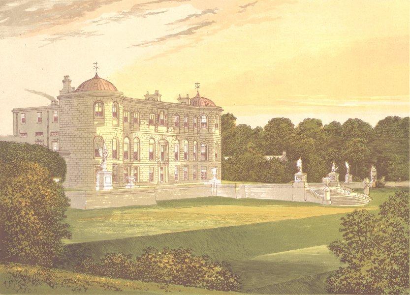 Associate Product POWERSCOURT, Enniskerry, County of Wicklow (Viscount Powerscourt) 1891 print