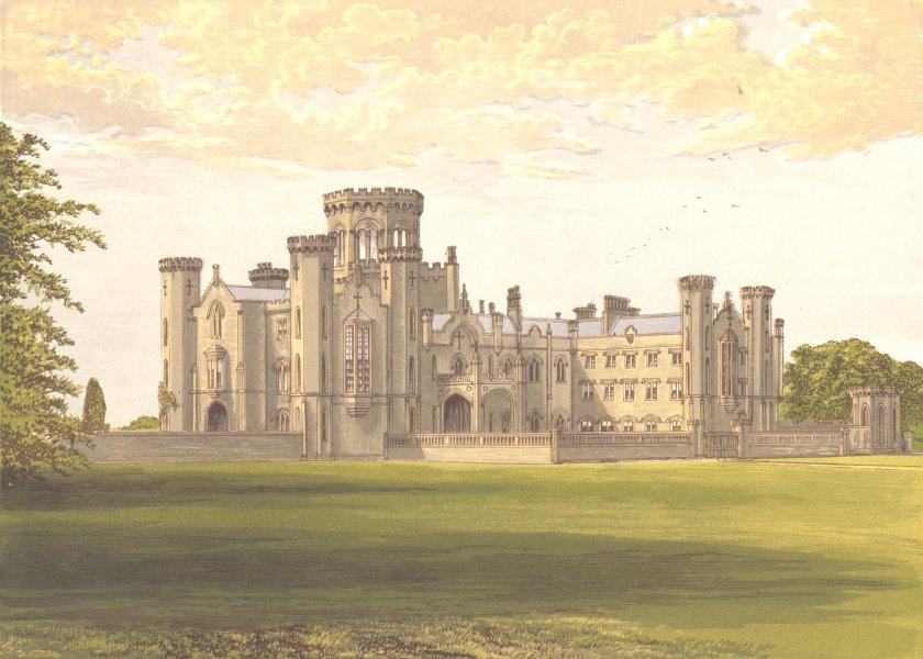 Associate Product STUDLEY CASTLE, Studley, Warwickshire (Walker) 1891 old antique print picture