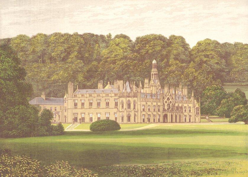 Associate Product SHELTON ABBEY, Arklow, County Wicklow, Ireland (Earl of Wicklow) 1892 print