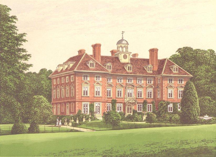 Associate Product TYTTENHANGER PARK, St. Albans, Hertfordshire (Countess of Caledon) 1892 print