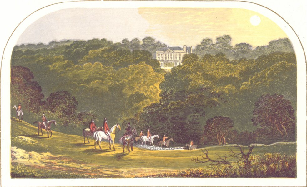Associate Product DENBY GRANGE, Wakefield, Yorkshire (Lister Kaye, Baronet) 1892 old print