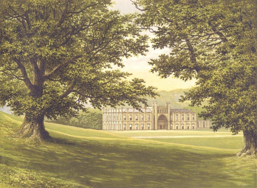 Associate Product DONINGTON CASTLE, Ashby-de-la-Zouch, Leicestershire (Baron Donington) 1893