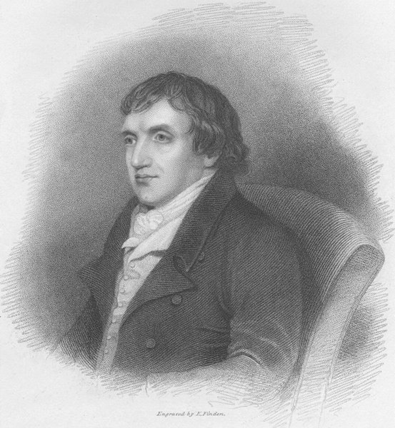 Associate Product POETS. William Gifford, Esq ; Finden 1834 old antique vintage print picture
