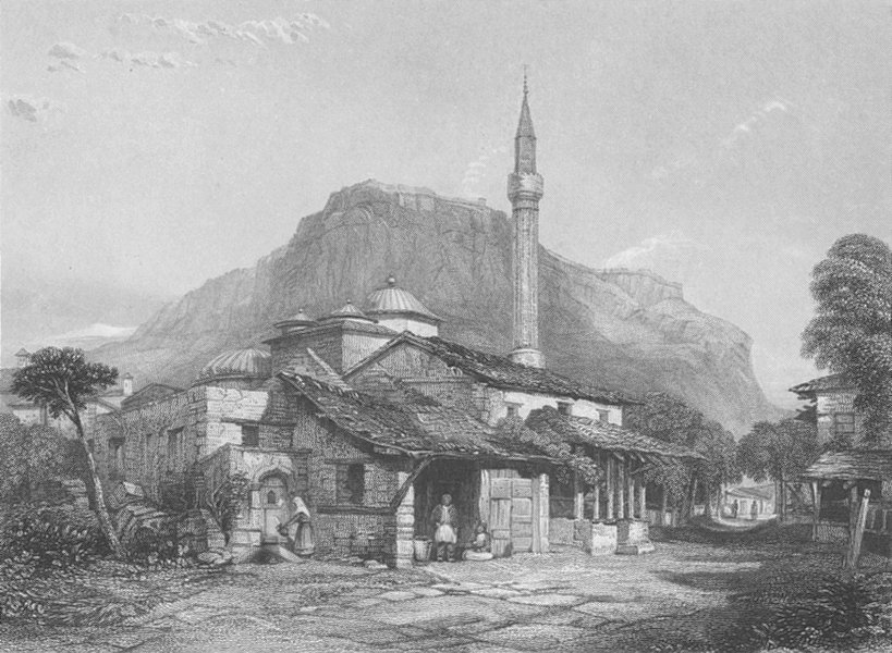 Associate Product GREECE. Corinth ; Finden 1834 old antique vintage print picture