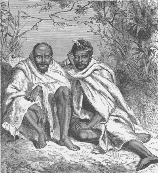 Associate Product INDIA. Khond Chiefs 1891 old antique vintage print picture