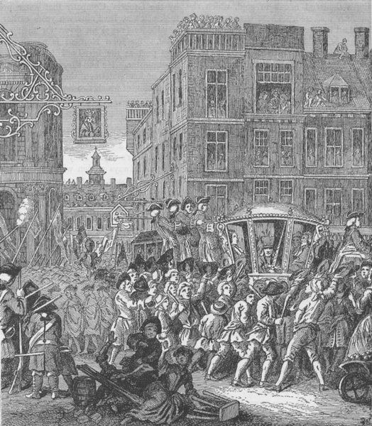 Associate Product CHEAPSIDE. The Lord Mayor's procession (Hogarth's Industrious Apprentice) c1880
