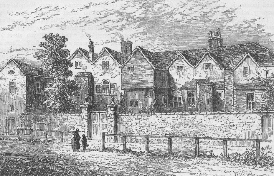 Associate Product WHITECHAPEL. Kirby castle, Bethnal Green (the blind beggar's House) c1880