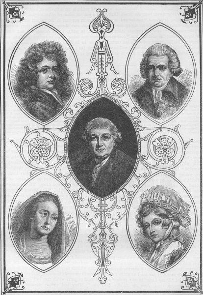 Associate Product ST.GILES'S-IN-THE-FIELDS PARISH. Drury Lane Celebrities. London c1880 print