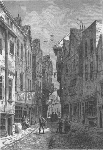 Associate Product WESTMINSTER. The Little Sanctuary (from a drawing by F. T. Smith in 1808) c1880